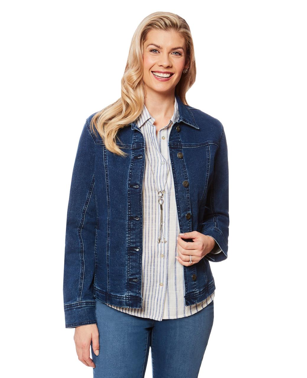 e030f71f78f Women s medium wash classic denim jacket