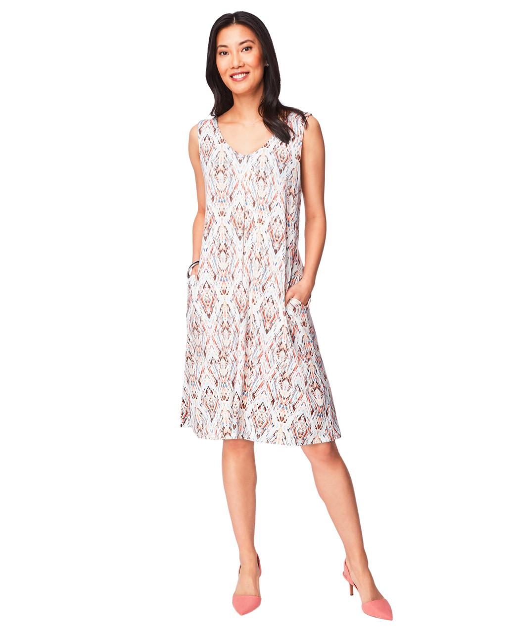 2541d4e19c Women s Sunset Box Pleat Jersey Dress