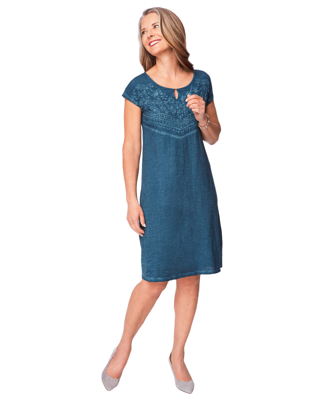 ef0972ef women's cotton cold dye dress | Northern Reflections