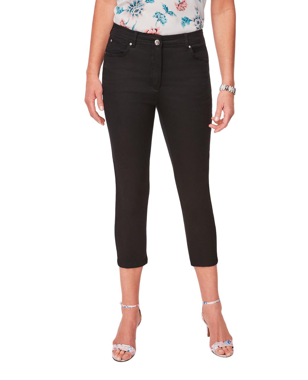 c704de2142 Black Slim Capri Pant for Women | Northern Reflections