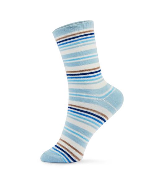 0b7d80c3259 Women s Striped Crew Socks