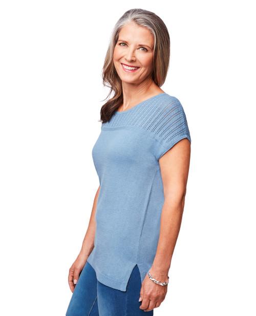 eff92331fa6 Women's pointelle pullover; Women's pointelle pullover; Women's pointelle  pullover