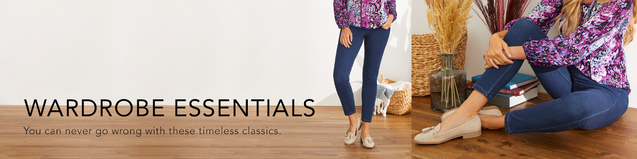 Wardrobe Essentials. You can never go wrong with these timeless classics