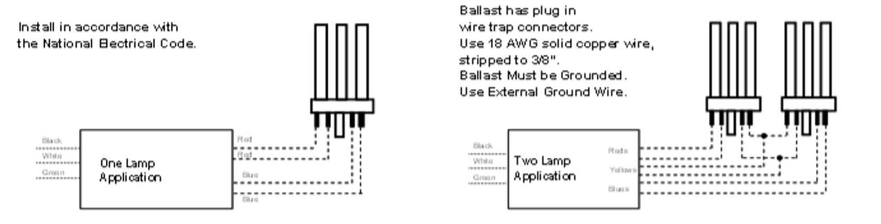 Universal TRIAD Electronic Ballasts C242UNVME001C