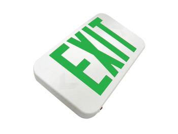 led exit green letters HL0301B2GW