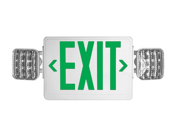 green exit sign HL03143GW
