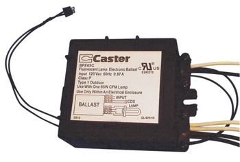 Caster BFE65C with photo eye