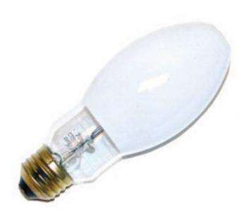 LU70/D (23013) VENTURE LIGHTING 70W S62 HPS Lamp - Mogul Base Coated