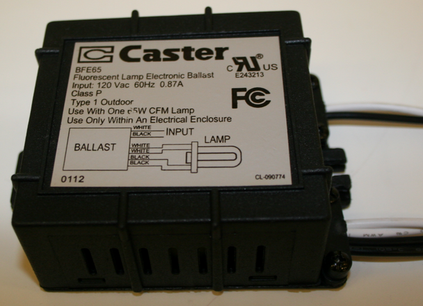 Caster BFE65 Compact Fluorescent Ballast on