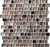 Supplier: Daltile Fanfare, Series: Jewel Tide, Name: JT02 Beach Pebble - Tumbled Sea Glass Glossy, Category: Glass Tile Mosaic , Size: 3/4 X Random