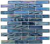 Supplier: Tile Store Online, Name: Oceania OCS-172, Color: Cobalt Sea,Type: Brick Subway Glass Mosaic Tile, Size: 1X4