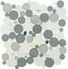 Supplier: Tile Store Online, Name: SBS-1511, Color: Smokey Froth,Type: Round Glass Mosaic Tile, Size: 11.75X11.75