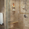 Manufacturer: Daltile, Item: BA725 Soap Dish, Color: Light Travertine, Series: Resin FauxStone Bath Accessory