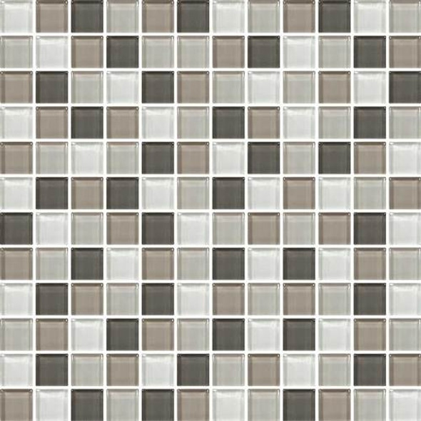 Supplier: Daltile, Series: Color Wave, Name: CW22 Soft Cashmere - Glossy, Category: Glass Tile, Size: 1 X 1