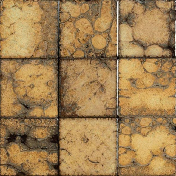 Bristol Studios - Midnight - G2322 Plage - 4X4 Hand Crafted Decorative Tile - $7.99