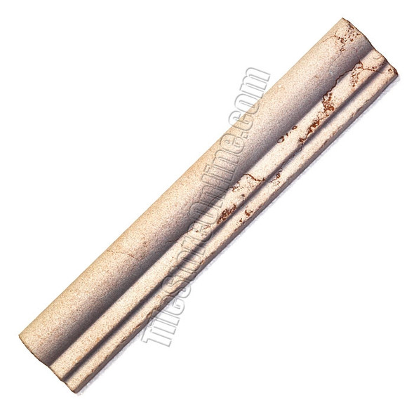 Type: Natural Stone Ogee Molding Series: Italian Marble Molding, Color: Rosa Perlino, Category: Natural Stone Trim, Price: $9.99 + FREE SHIPPING, Size: 2 X 12