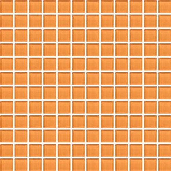 Supplier: Daltile, Series: Color Wave, Name: CW29 Russet Orange - Glossy, Category: Glass Tile, Size: 1 X 1