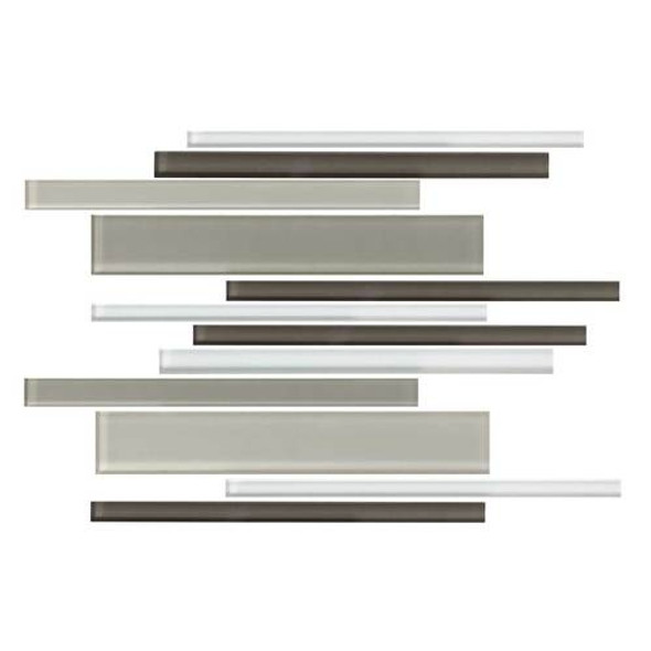 Daltile Color Wave Glass - CW22 Soft Cashmere Blend - Random Linear Dal Tile Glass Tile - Glossy - Sample