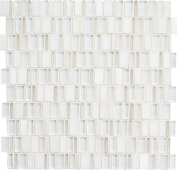 Daltile Clio Glass Mosaic - CL13 Luna - Glass & Stone Random Brick - Sample