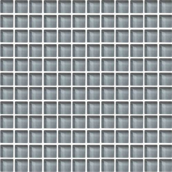 Daltile Color Wave Glass - CW17 Smoked Pearl - 1 X 1 Dal Tile Glass Tile - Glossy - Sample
