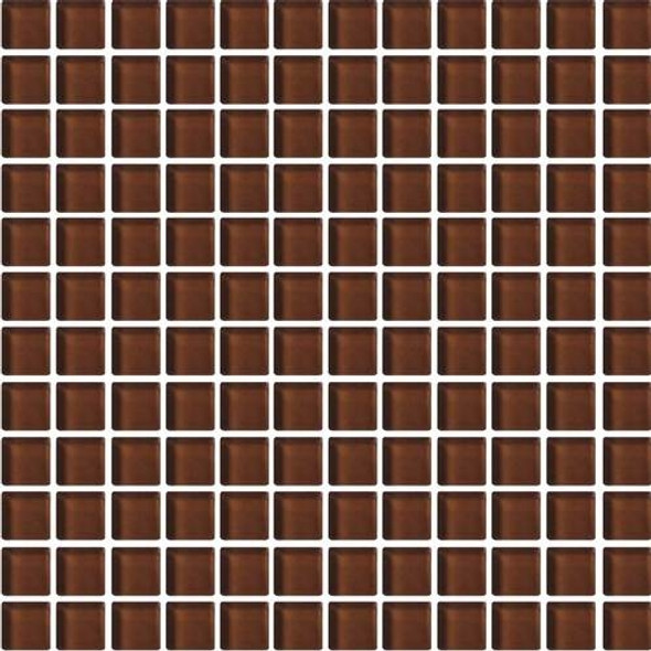 Supplier: Daltile, Series: Color Wave, Name: CW11 Root Beer - Glossy, Category: Glass Tile, Size: 1 X 1