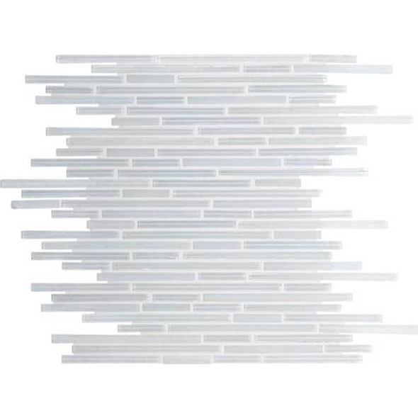 Supplier: Daltile Fanfare, Series: Caprice, Name: F167, Color: Ice White, Size: Random Linear