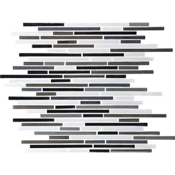 Supplier: Daltile Fanfare, Series: Caprice, Name: F169, Color: Contrast Blend, Size: Random Linear