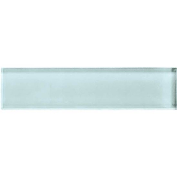 American Olean Color Appeal Glass - C106 Moonlight - 2X8 Brick Subway Glass Tile - Glossy - Sample