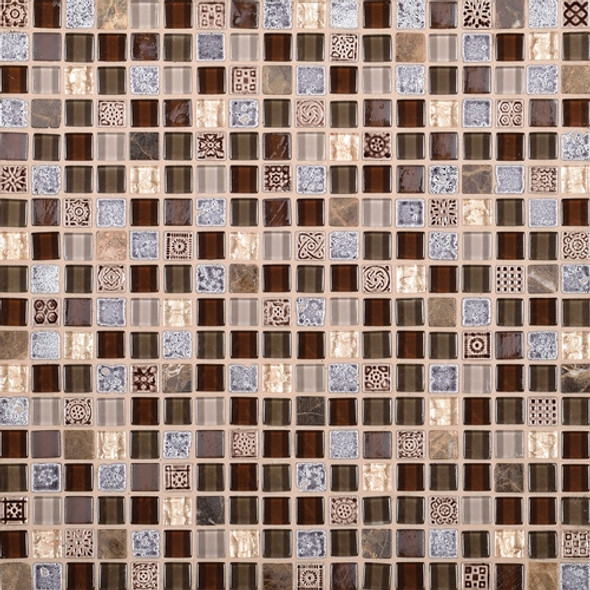 Supplier: Daltile Fanfare, Series: Marvel, Name: MV28, Color: Wonder, Size: 5/8 X 5/8