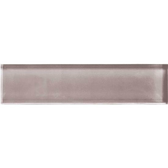 American Olean Color Appeal Glass - C118 Orchid - 2X8 Brick Subway Glass Tile - Glossy - Sample