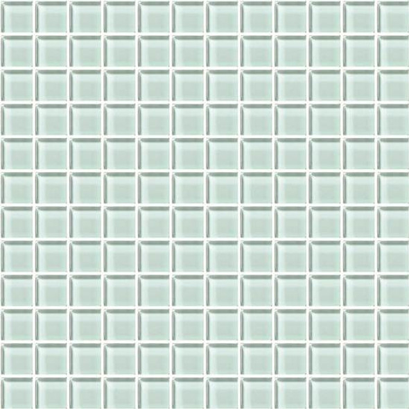 American Olean Color Appeal Glass - C107 Vintage Mint - 1X1 Glass Tile Mosaic - Glossy - Sample