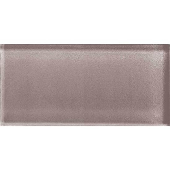 American Olean Color Appeal Glass - C118 Orchid - 3X6 Brick Subway Glass Tile - Glossy - Sample