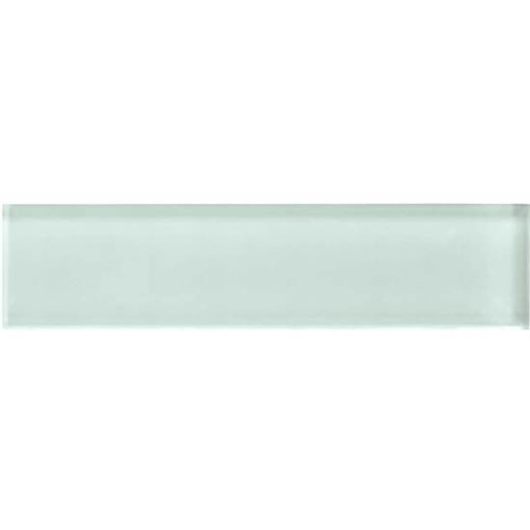 American Olean Color Appeal Glass - C107 Vintage Mint - 2X8 Brick Subway Glass Tile - Glossy - Sample
