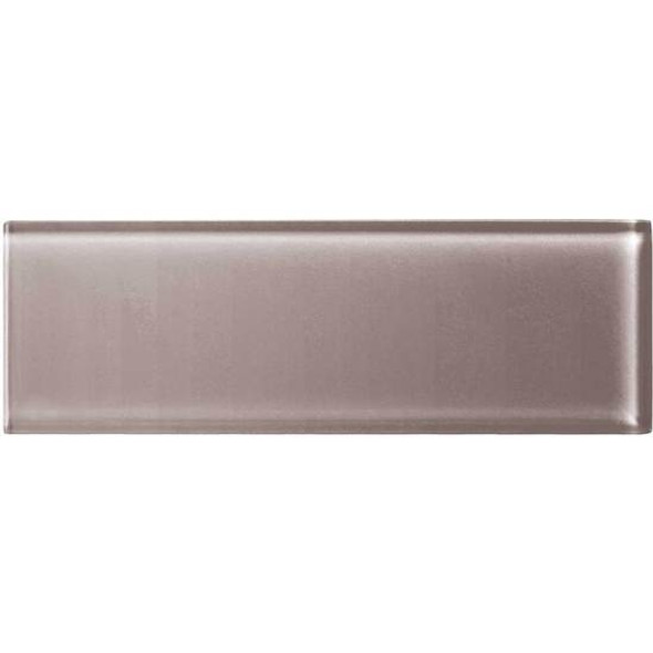 American Olean Color Appeal Glass - C118 Orchid - 4X12 Subway Glass Tile Plank - Glossy - Sample