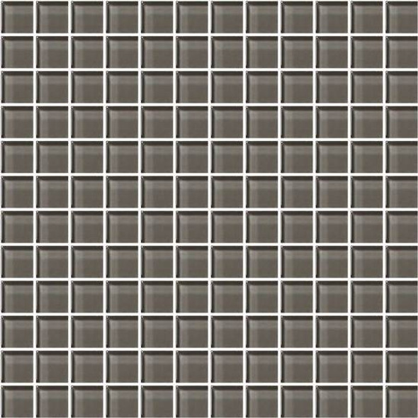 American Olean Color Appeal Glass - C119 Mink - 1X1 Glass Tile Mosaic - Glossy - Sample