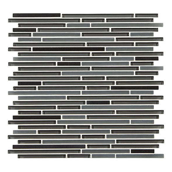 Supplier: American Olean, Series: Generations Glass, Name: GN03 Epoch, Type: Glass & Stone Tile Mosaic, Size: 3/8 X Random