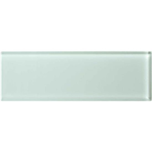 American Olean Color Appeal Glass - C107 Vintage Mint - 4X12 Subway Glass Tile Plank - Glossy - Sample