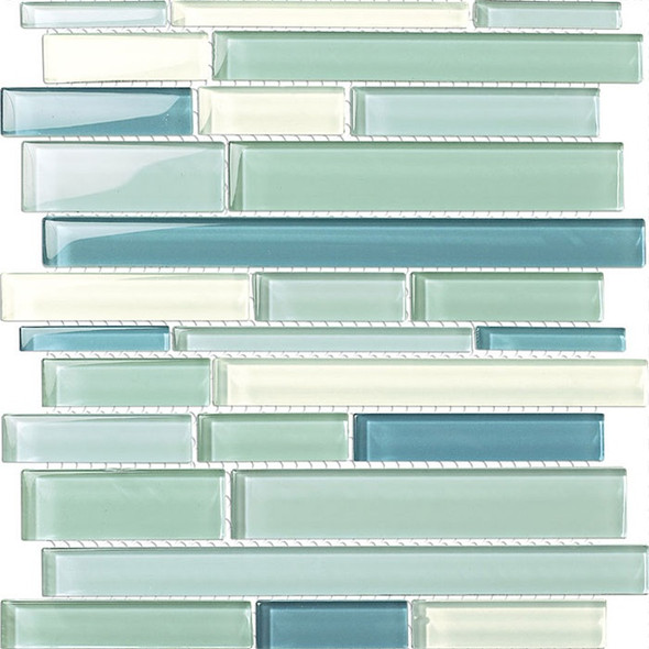 Supplier: Tile Store Online, Type: Glass Tile Mosaic, Series: Glass Blends, Name: GSD826, Color: Blue Blend, Category: Glass Tile, Price: $12.99, Size: Various Sizes