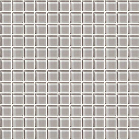 American Olean Color Appeal Glass - C120 Cloudburst - 1X1 Glass Tile Mosaic - Glossy - Sample