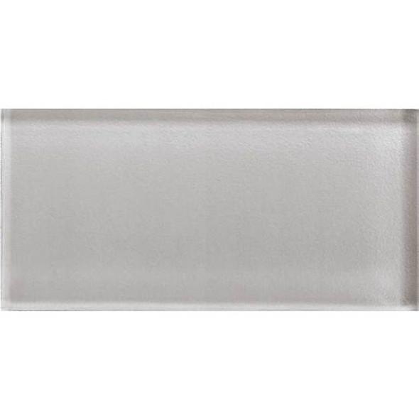 American Olean Color Appeal Glass - C120 Cloudburst - 3X6 Brick Subway Glass Tile - Glossy - Sample