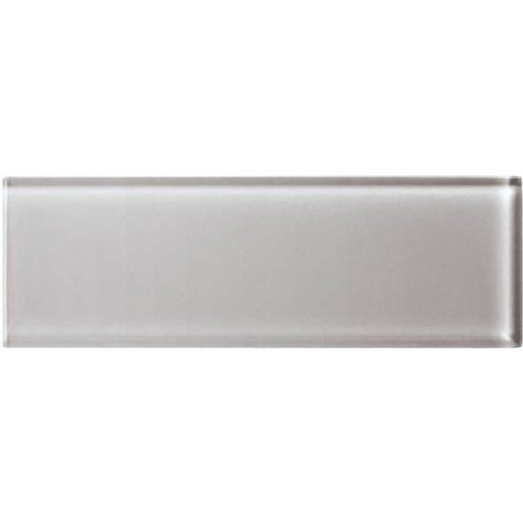 American Olean Color Appeal Glass - C120 Cloudburst - 4X12 Subway Glass Tile Plank - Glossy - Sample