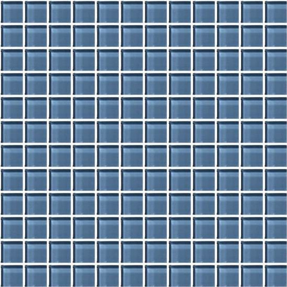 American Olean Color Appeal Glass - C110 Dusk - 1X1 Glass Tile Mosaic - Glossy - Sample