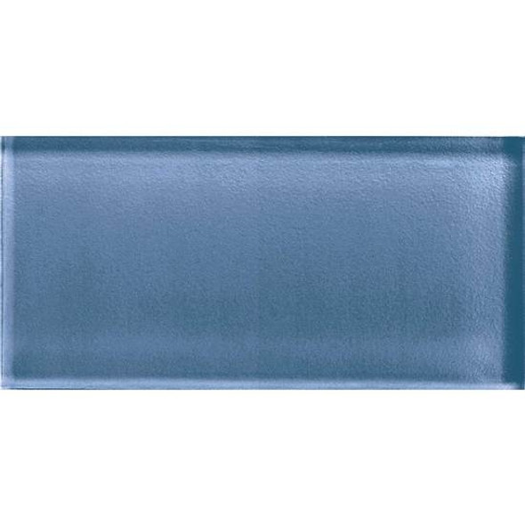 American Olean Color Appeal Glass - C110 Dusk - 3X6 Brick Subway Glass Tile - Glossy - Sample