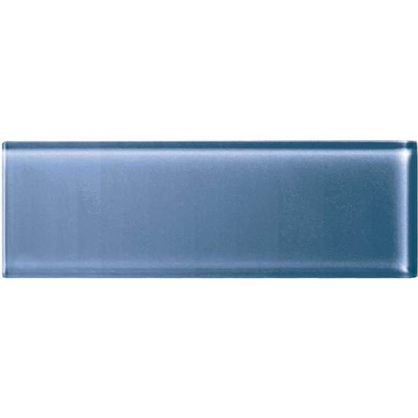American Olean Color Appeal Glass - C110 Dusk - 4X12 Subway Glass Tile Plank - Glossy - Sample