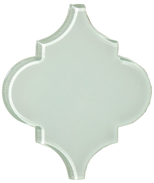 Supplier: Tile Store Online, Name: Versailles VS-416, Color: Reflective Pool, Type: Arabesque Glass Tile, Size: 5X6