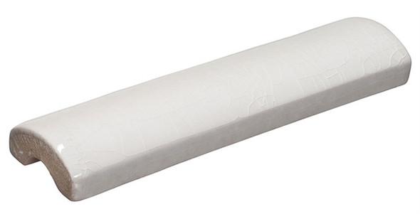 Lumiere - LMRM-8563 Angel Feather - 1-1/2 X 6 Crackle Glaze Porcelain - Molding