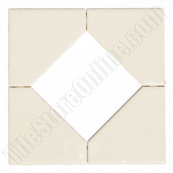 "Supplier: Daltile, Type: Glazed Ceramic Tile Decorative Tile, Series: Semi Gloss Liner Border, Name: FA5213588DIA1P2, Color: Almond, Category: Ceramic Tile, Price: $3.99, Size: 8.5""X8.5"""