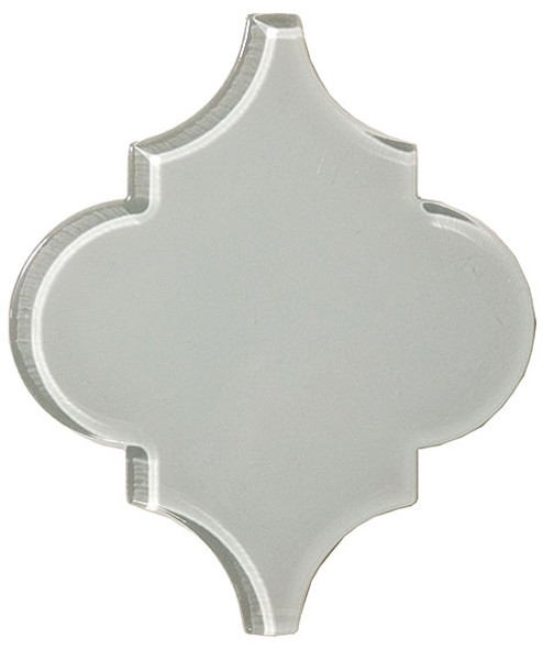 Arabesque Glass Tile - Versailles VS-417 Foggy Meadow - Moroccan Style Glass - Gloss - Sample