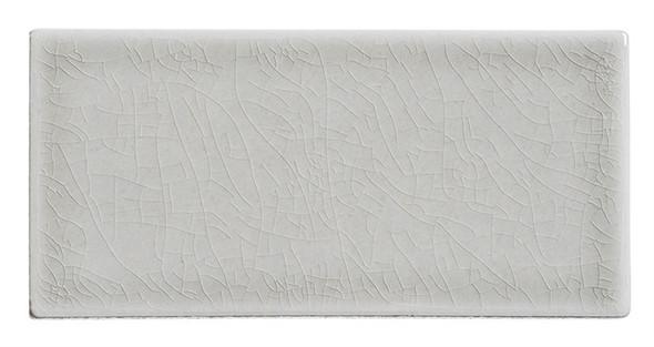 Lumiere - LMR-8525 Aux Champignon - 3X6 Subway Brick Crackle Glaze Porcelain - Bullnose Trim Tile