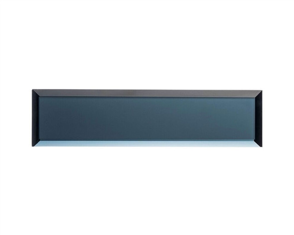 Mystique MQS-362 Aruba Sparkle - 3 X 12 Beveled Mirror Glass Subway Plank Tile
